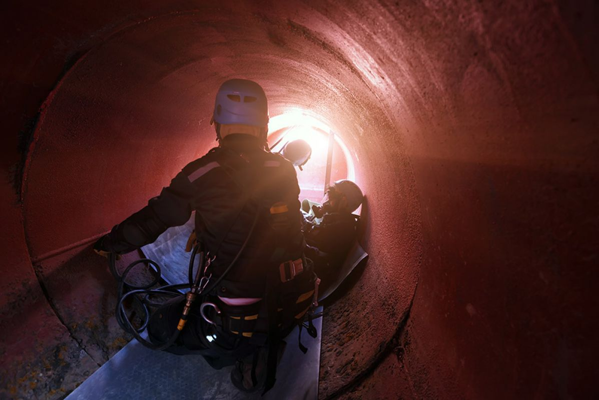 Image of the Confined Spaces